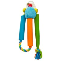 Leaps & Bounds Rope Snake Dog Tug Toy