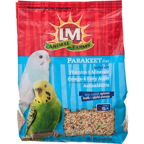 LM Animal Farms Parakeet Diet Bird Food