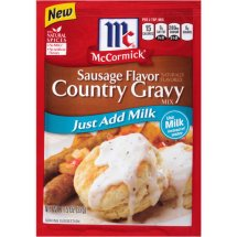 McCormick® Country Gravy Mix, 1.15 oz
