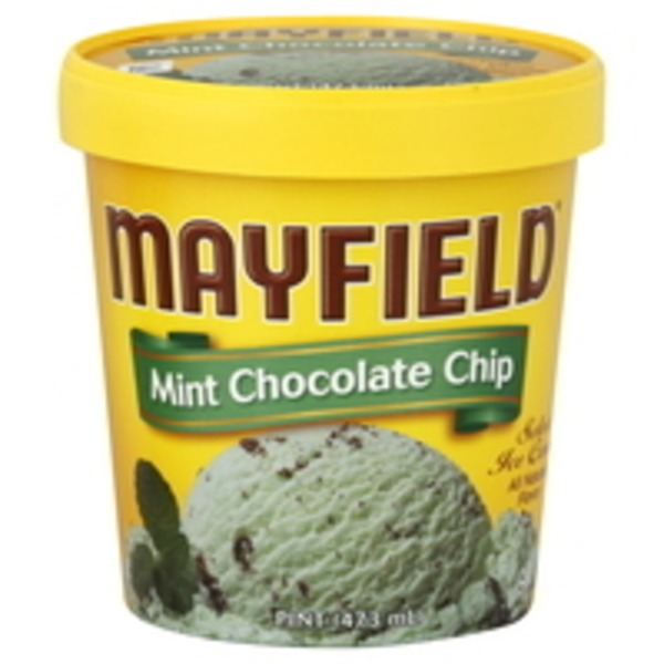 Mayfield Mint Chocolate Chip Select Ice Cream
