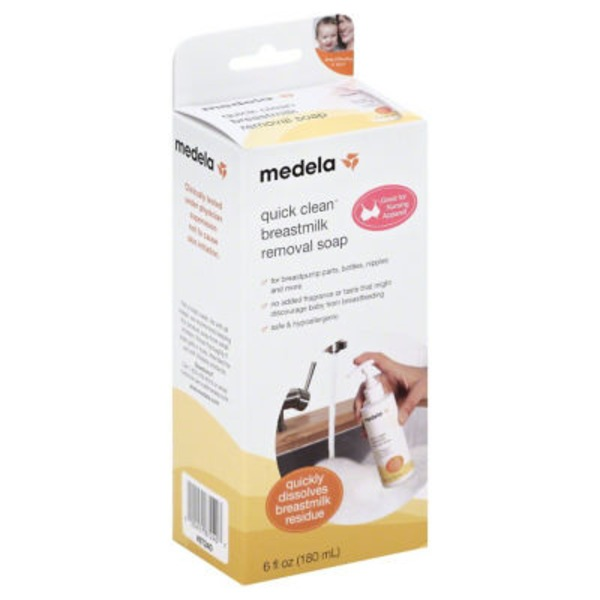 Medela Soap, Quick Clean Breastmilk Removal