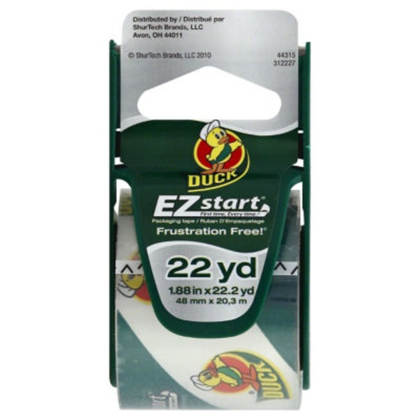 Duck EZ Start Packaging Tape