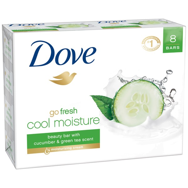 Dove Cucumber and Green Tea Beauty Bar