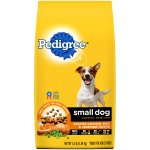 PEDIGREE Small Dog Adult Complete Nutrition Roasted Chicken, Rice and Vegetable Flavor Dry Dog Food 3.5 Pounds