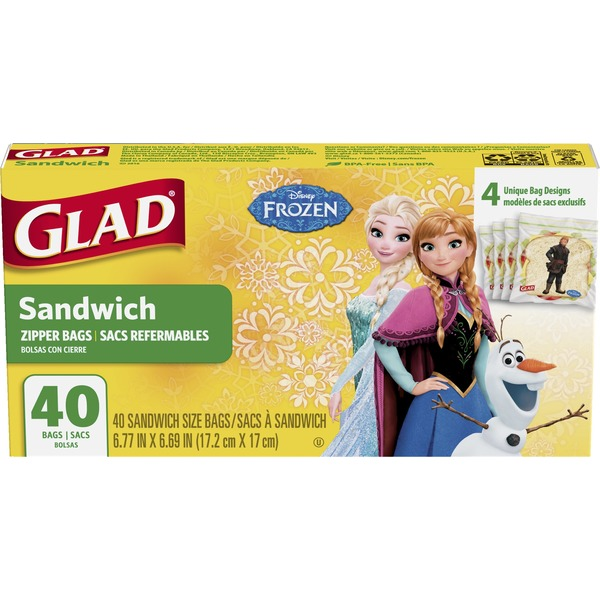 Glad Frozen Sandwich Bags