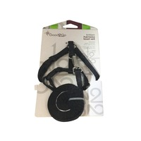 Good 2 Go Black Kitten Harness Lead Set