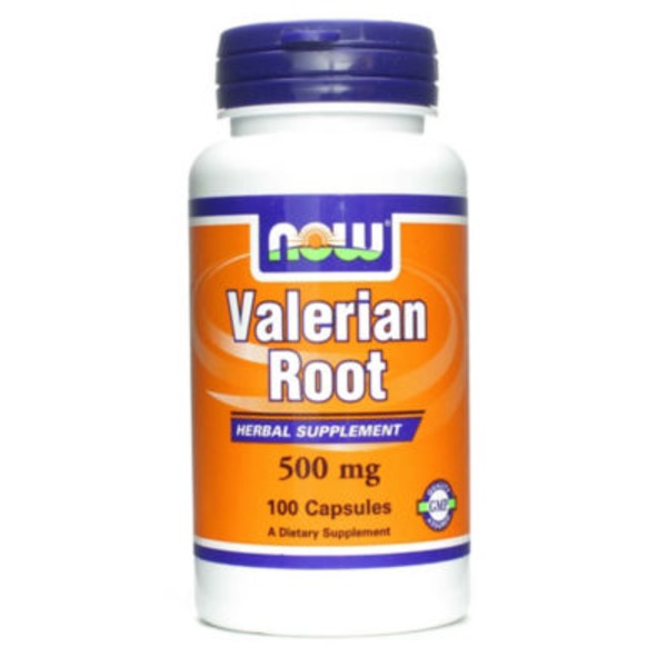 Now Valerian Root 500 Mg Capsules
