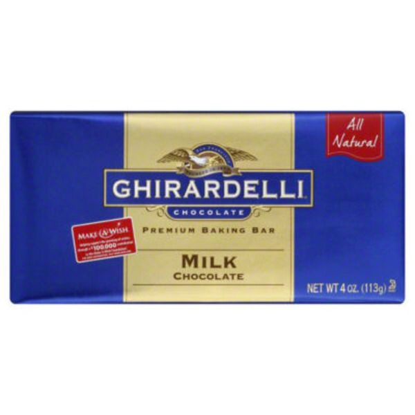 Ghirardelli Chocolate Milk Chocolate Baking Bar
