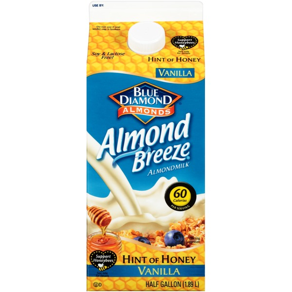 Almond Breeze Hint of Honey Vanilla Almondmilk