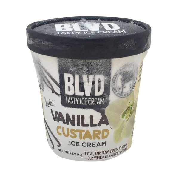 BLVD Tasty Ice Cream Vanilla Custard Ice Cream