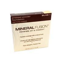 Mineral Fusion Pressed Powder Foundation - Olive