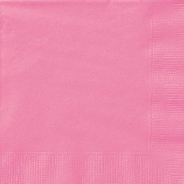 Unique Hot Pink Lunch Napkins