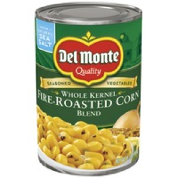 Del Monte Whole Kernel Fire-Roasted Corn Blend