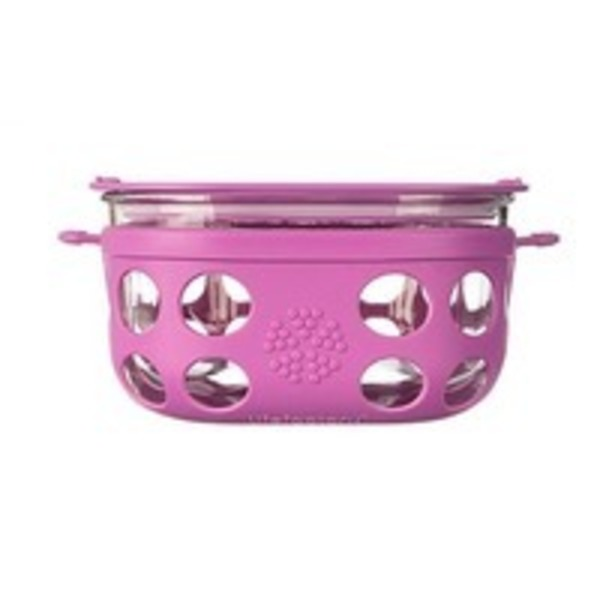 Lifefactory Food Container 1 Cup Huckleberry