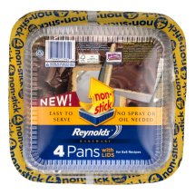 Reynolds Bakeware Pans with Lids - 4 CT