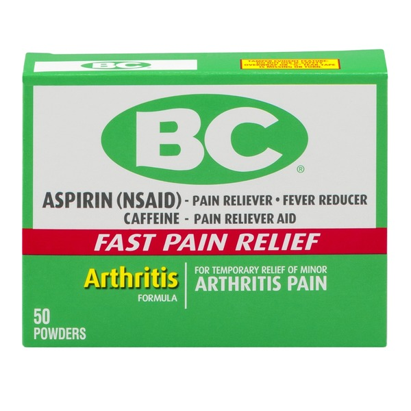 BC Aspirin Powder Arthritis Pain - 50 CT