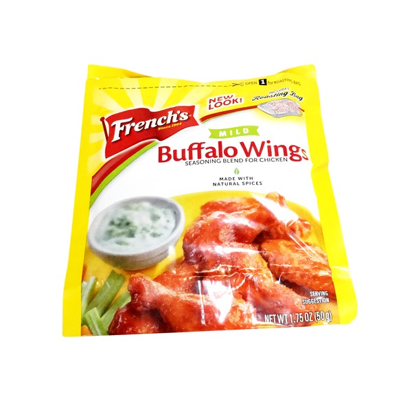 Frenchs Seasoning Blend for Chicken, Buffalo Wings, Mild