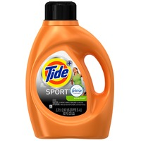 Tide Plus Febreze Sport Active Fresh Scent Liquid Laundry Detergent, 92 oz, 48 loads Laundry