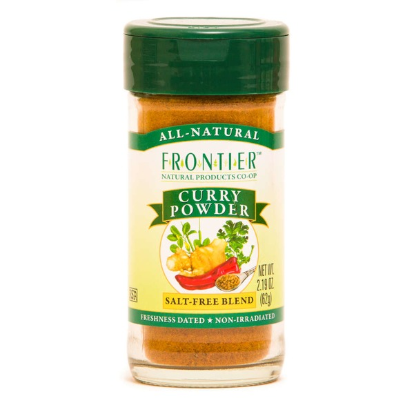 Frontier Natural Products Co-op Frontier Curry Powder Seasoning Blend