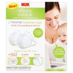 NUK Simply Natural Freemie Collection Cups Breast Pump Accessory Set