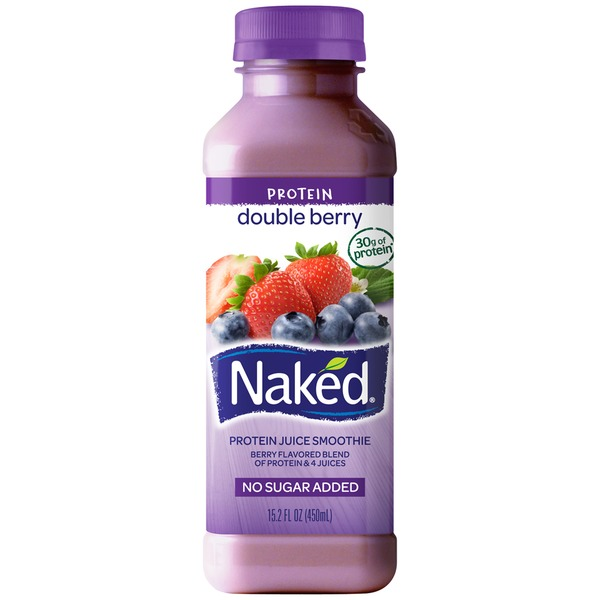 Naked Juice Protein Zone Double Berry Juice Smoothie