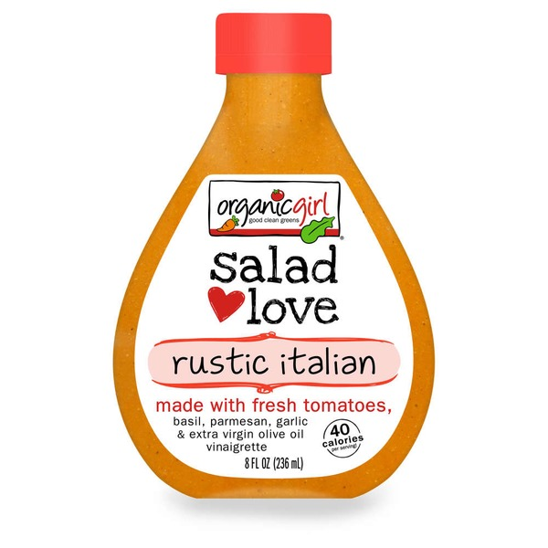 Organic Girl Salad Love Fresh Tomato Italian Dressing
