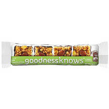 Goodness Knows Nutty Apple Granola Bar