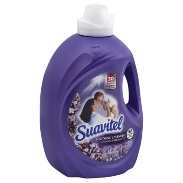 Suavitel Aroma Sensations Soothing Lavender Fabric Conditioner - 92 Loads