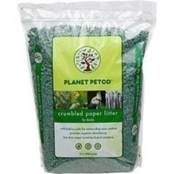 Planet Petco Crumbled Paper Bird Litter 20 Liters