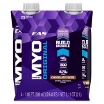 Eas Myoplex Original Shake, 42 Grams of Protein, Chocolate Fudge, 16 Oz, 4 Ct