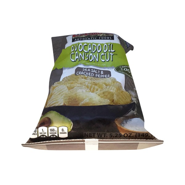 Boulder Canyon Kettle Cooked Sea Salt & Cracked Pepper Potato Chips