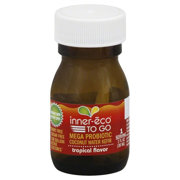 Inner Eco Kefir Coconut Water Tropical Flavor To Go