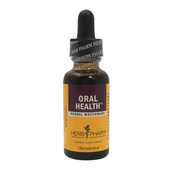 Herb Pharm Oral Health Tonic Mouthwash Drops