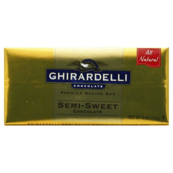 Ghirardelli Chocolate Semi-Sweet Chocolate Premium Baking Bar