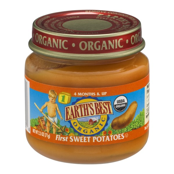 Earth's Best Organic Stage 1 Sweet Potatoes