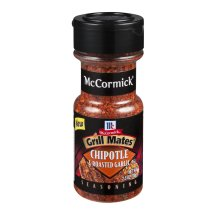 McCormick Grill Mates Seasoning Chipotle & Roasted Garlic, 2.5 OZ