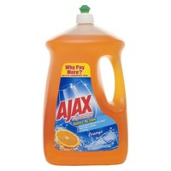 Ajax Antibacterial Dish Liquid Orange