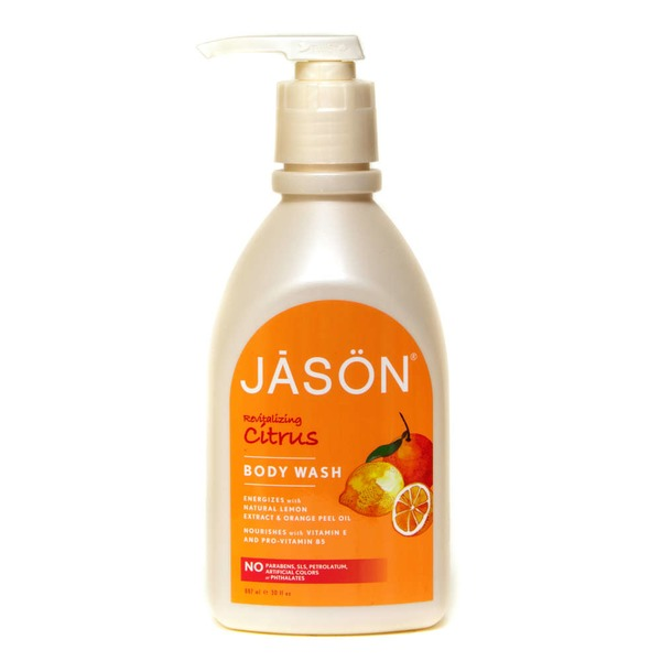 Jason Pure Natural Body Wash Revitalizing Citrus