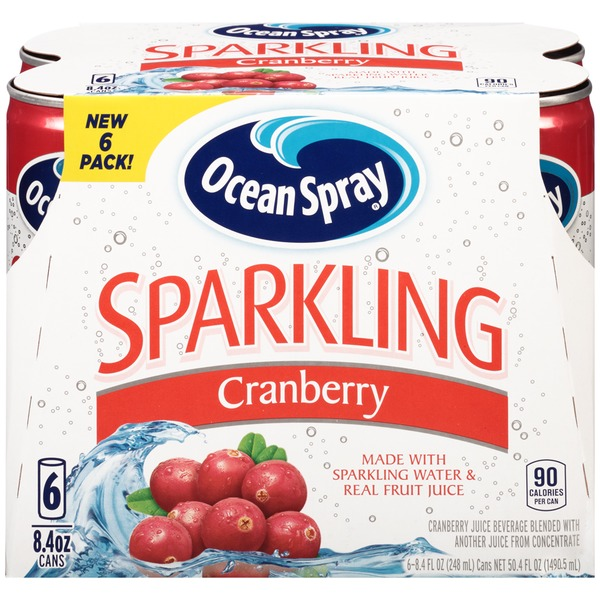 Ocean Spray Sparkling Cranberry Fruit Juice Drink