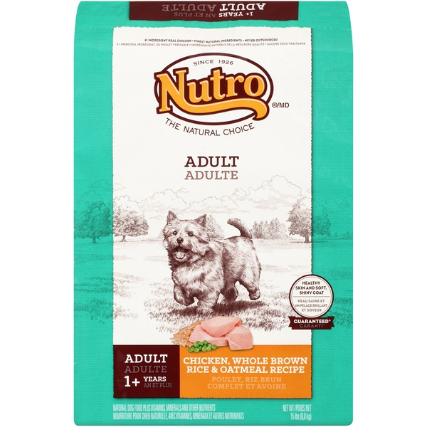 Nutro Adult Chicken Whole Brown Rice & Oatmeal Recipe Dog Food