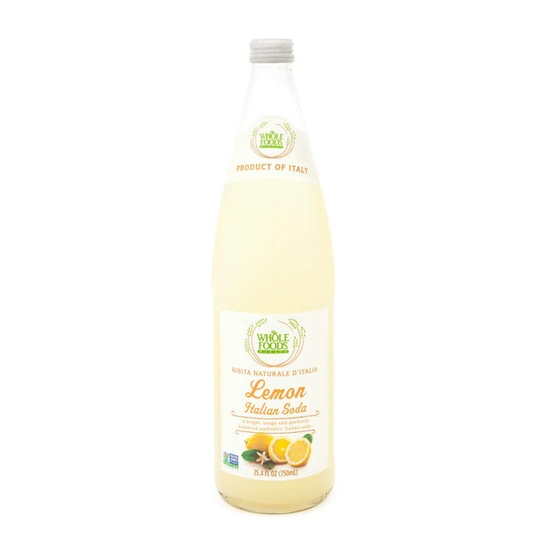 Whole Foods Market Lemon Italian Soda