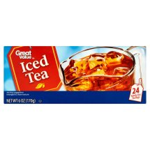 Great Value Iced Tea Bags, 6 oz, 24 Count