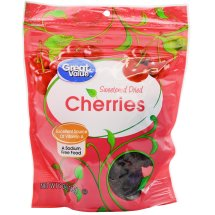 Great Value Sweetened Dried Cherries, 5 oz
