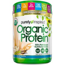 Purely Inspired Plant Based Protein Powder, Vanilla, 1.5 Lb, 19 Servings