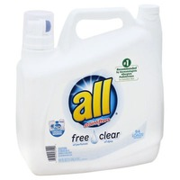 All With Stainlifters Free Clear 94 Loads Laundry Detergent