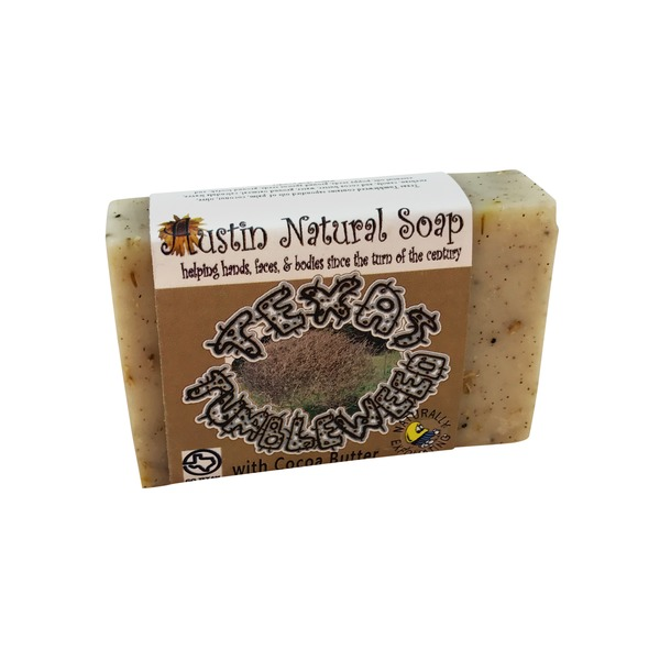 Austin Natural Soap Texas Tumbleweed With Cocoa Butter Soap