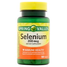 Spring Valley Selenium Tablets, 200 mcg, 100 Ct