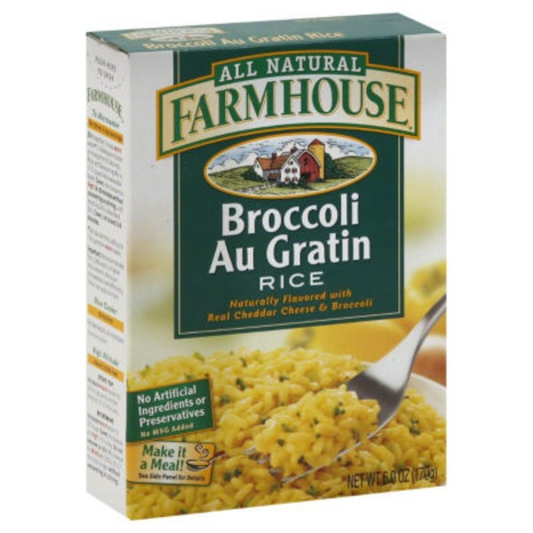 Farmhouse Rice, Broccoli Au Gratin, Box