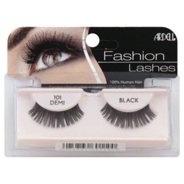 Ardell Fashion Lashes, Demi, Black 101