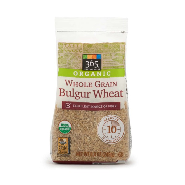 365 Organic Whole Grain Bulgur Wheat